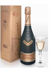 Vino Champagne Rosé Cuvée Prestige Brut Rosé Millésime 2006